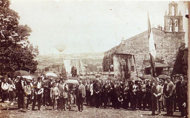Aciveiro San Benito Procesión Ca 1930