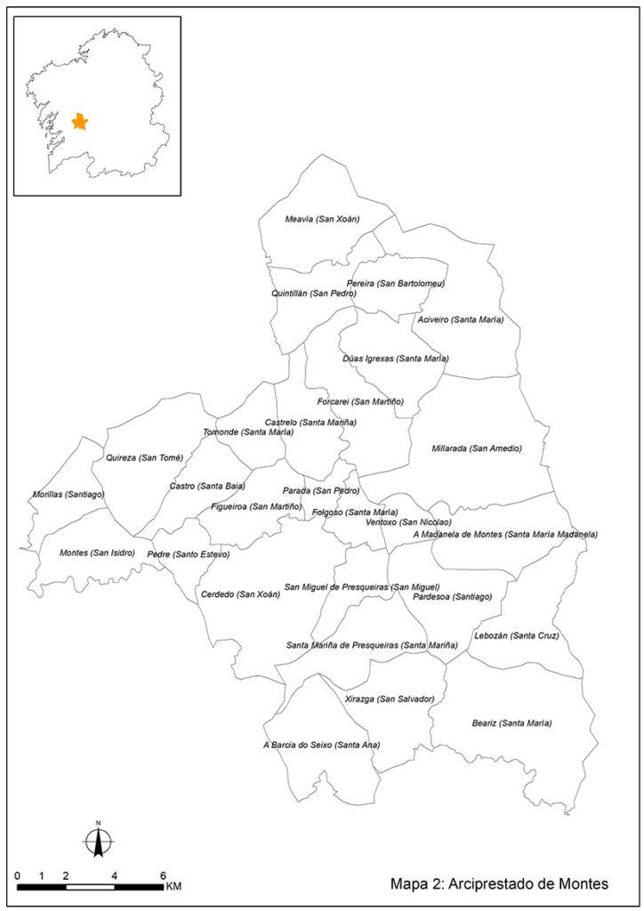 Historia Terra de Montes Mapa 1