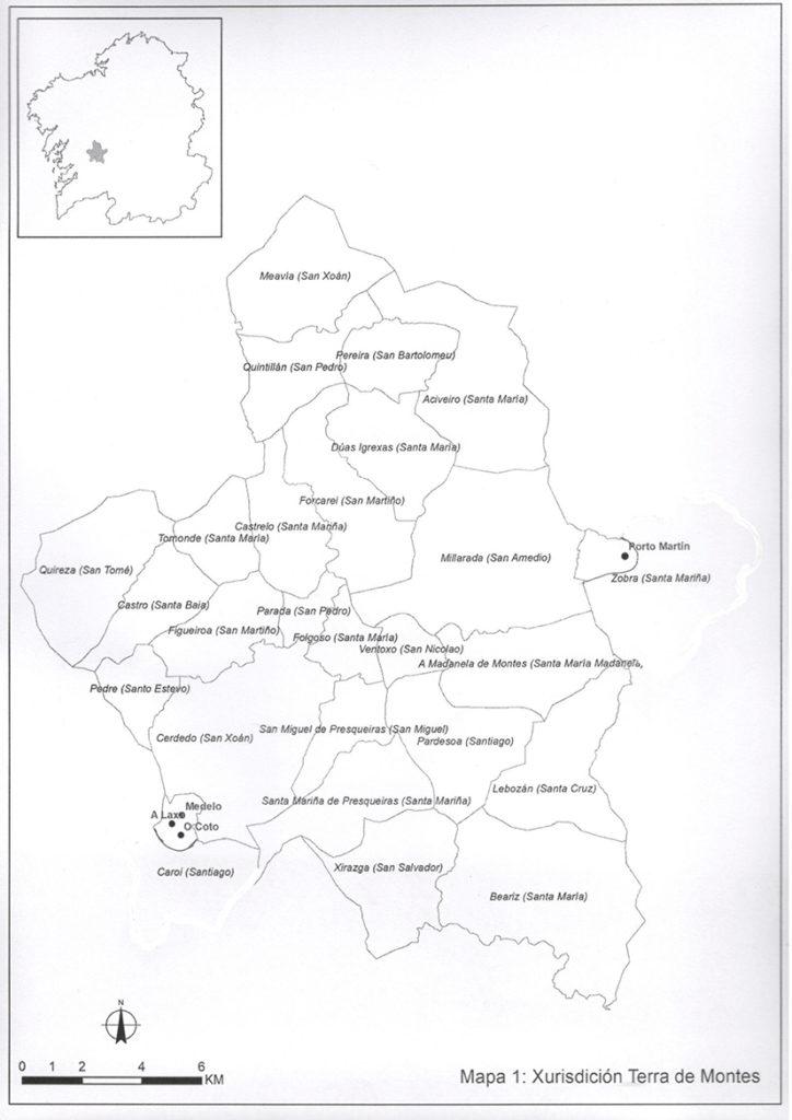 Historia Terra de Montes Mapa 2