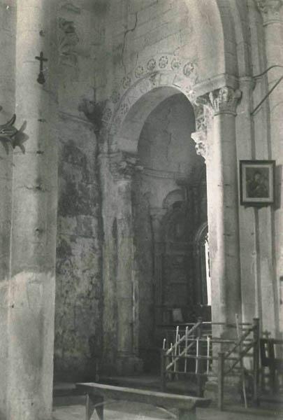 Aciveiro nave lateral evanxelio Ca. 1960