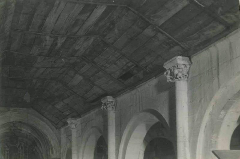 Aciveiro teito interior anterior a 1960