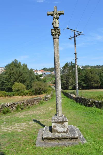 Cerdedo Cruceiro da Capela de San Antón
