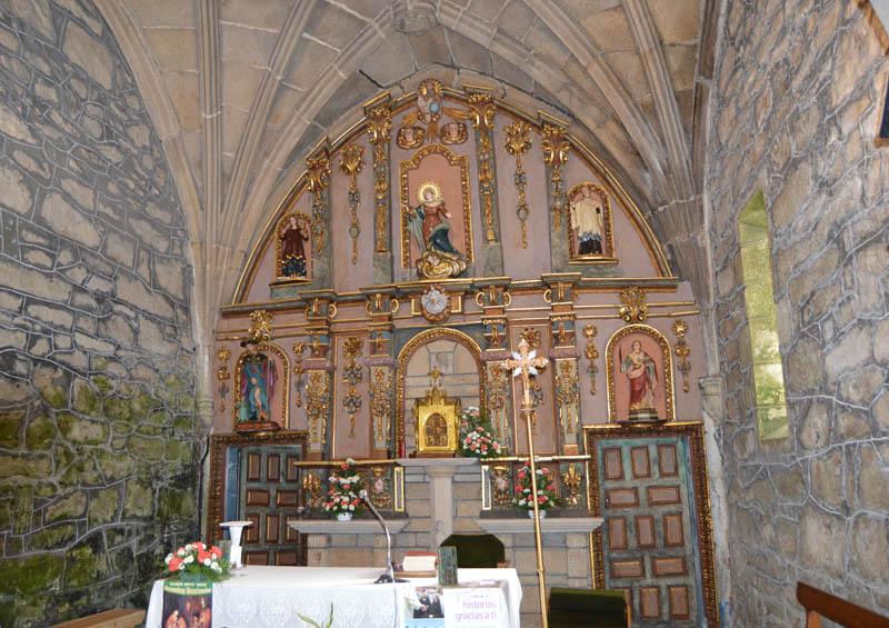 Dúas Igrexas - Retablo Maior